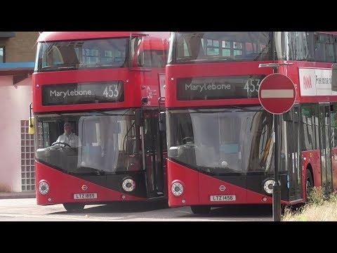453 Full London Bus Route: Deptford Bridge -  Marylebone Go Ahead Part 1