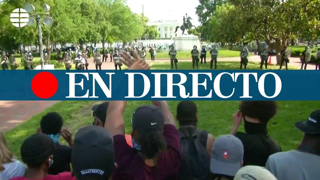 EN DIRECTO | Protestas en EEUU tras la muerte de George Floyd