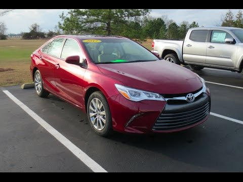 2017 Toyota Camry Xle V6 Full Tour Start Up At Mey