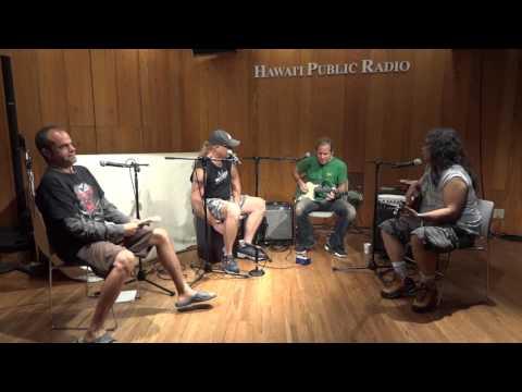 Chris Duarte Group 2015 studio interview / performance part 1