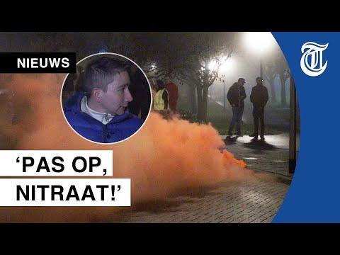 Chaos op Urk gefilmd: ?Wij komen in opstand?