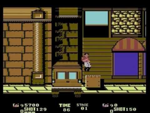 Sega Arcade Games on C64