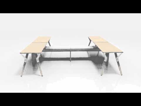 Teknion Upstage Animation   ISpace Furniture