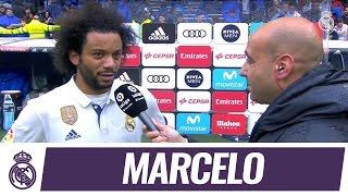 Palabras de Marcelo tras marcar el gol de la victoria frente al Valencia