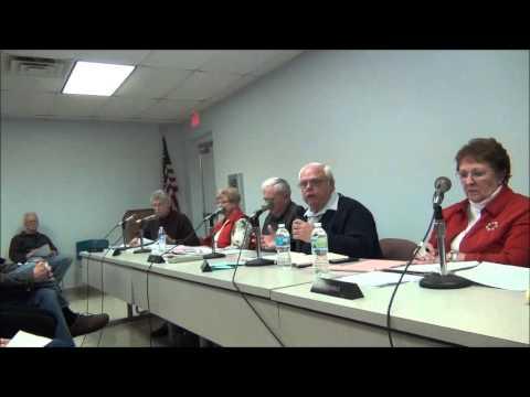 Burtchville Public Hearing regarding Trash Hauling part 1
