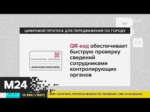 В Москве введут специальные пропуска для поездок - Москва 24