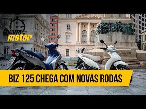 Sucesso de vendas entre as mulheres, Honda Biz 125 2020 chega com novas rodas
