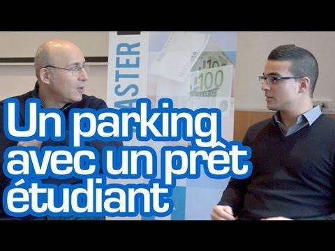 Investissement immobilier : Investir dans un parking avec un prêt étudiant c'est possible !