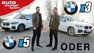 BMW X5 vs X3 | Entweder ODER | (Vergleich/Review) auto motor und sport