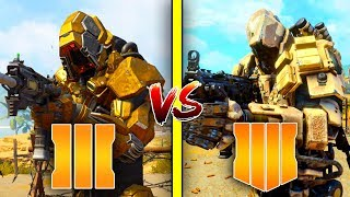 Call of Duty Black Ops 4 vs Black Ops 3 | Specialists Comparison (2015 vs 2019)