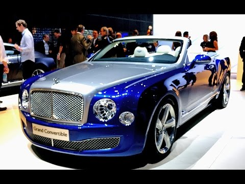 Bentley Grand Covertible - Das Mulsanne Cabrio - YouTube