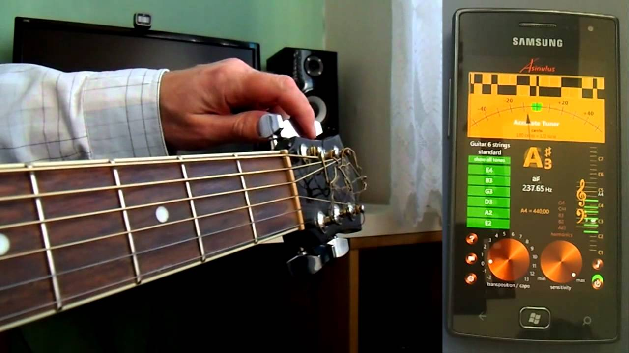 accurate tuner pro for windows phone demoed on samsung