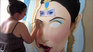 How To Paint Eyes - Indian Bride - DAY 2