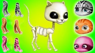 Cat Hair Salon Birthday Party - Play Fun Kitten Care Dress Up Makeover Games For Kids By TutoTOONS