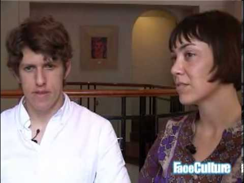 The Bird and The Bee 2007 interview - Greg Kurstin and Inara George (part 2)