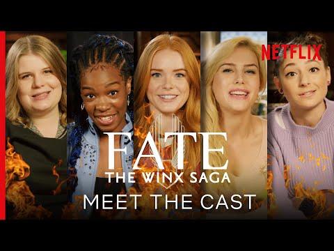 Meet the Cast of Fate: The Winx Saga | Netflix