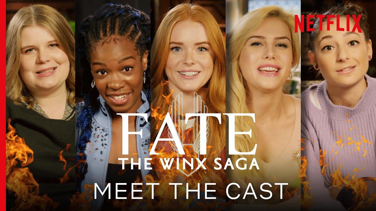 Meet The Cast Of Fate The Winx Saga Netflix Youtube