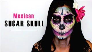 Lufy - SUGAR SKULL Halloween Makeup - Dia de los muertos