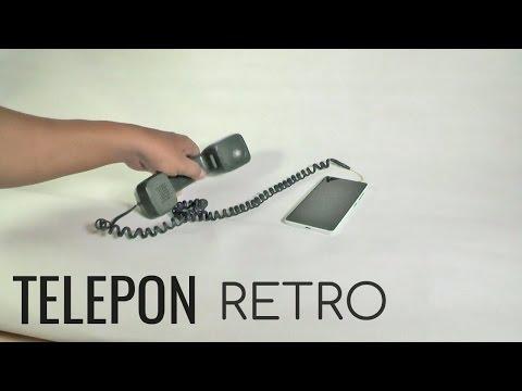 Membuat Telepon Retro | Kuno & Artistik