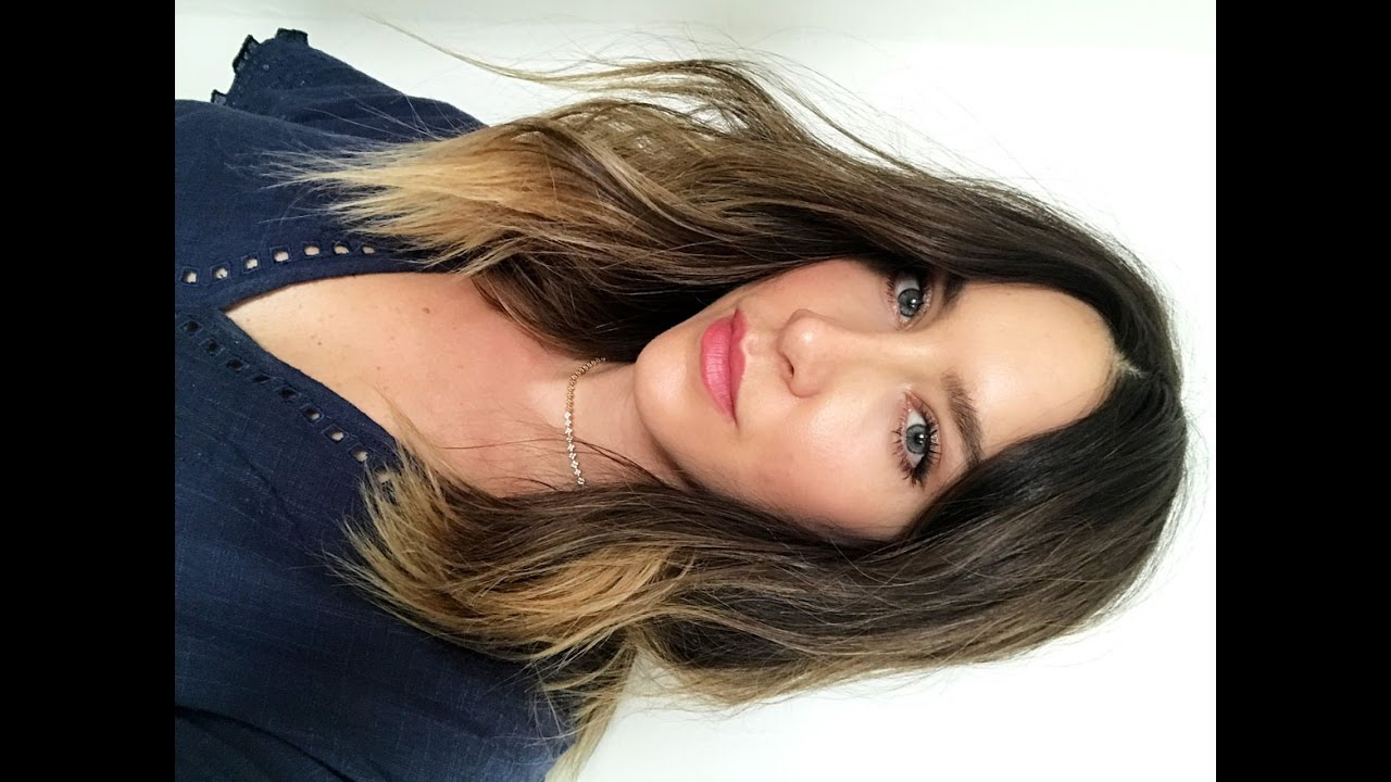 Quick And Easy Wavy Hair Mid Length Youtube