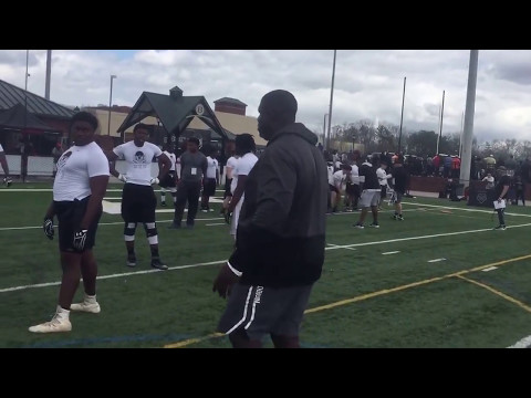 Willie Anderson Lineman Academy - Nike Camp-1