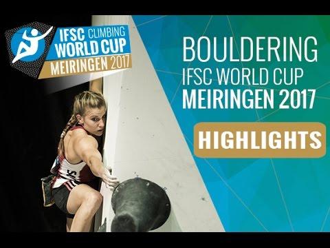 IFSC Climbing World Cup Meiringen 2017 - Finals Highlights