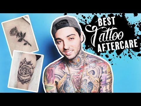 BEST TATTOO AFTERCARE | STEP BY STEP GUIDE (By Tattoo Artist!)
