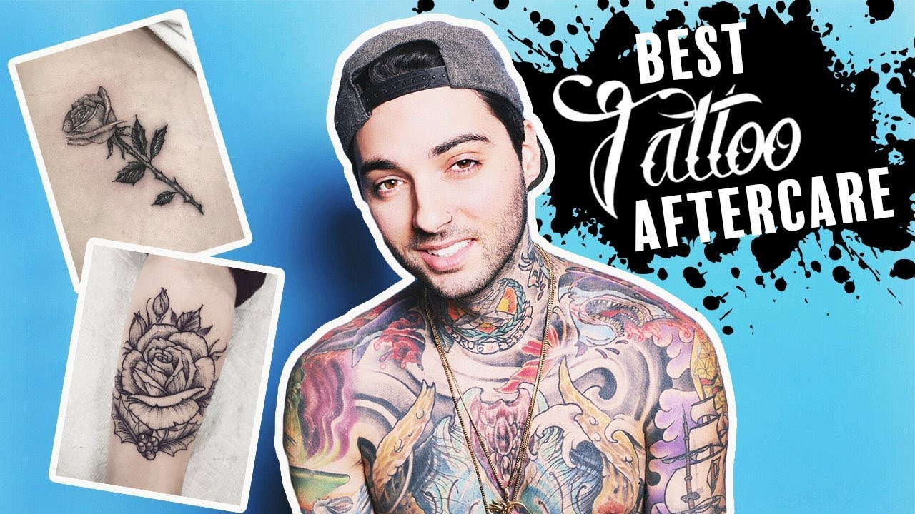 Best Tattoo Aftercare Step By Step Guide By Tattoo Artist Youtube