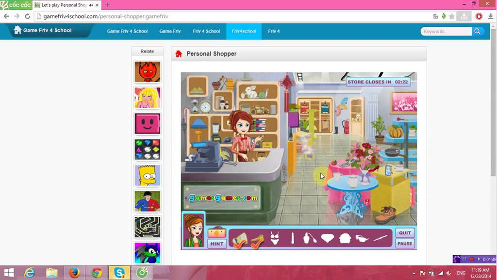 Personal Shopper Play Game On Game Friv 4 School Youtube