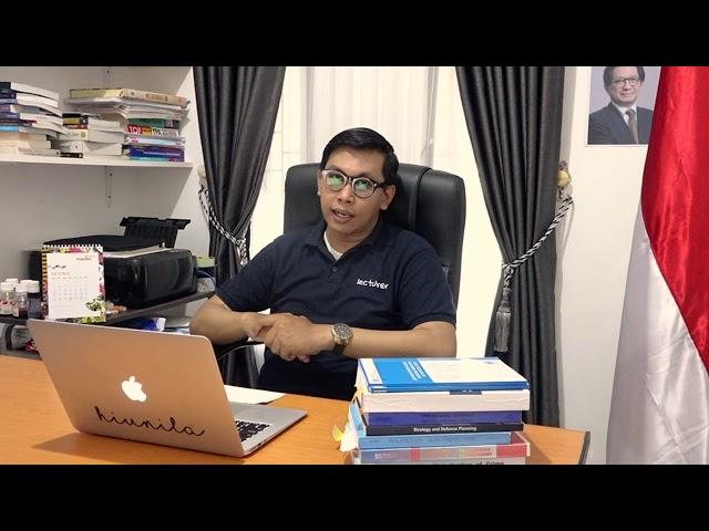 Security & Strategic Studies - Iwan Sulistyo, M.A.