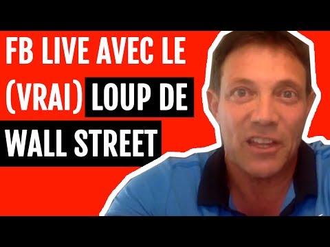 J'ai suivi le Facebook Live du Loup de Wall Street | Analyse