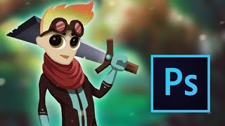 Game Character Design & Animation for 2D Photoshop Tutorial