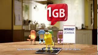 SAZKAMobil: 1GB Internet zdarma