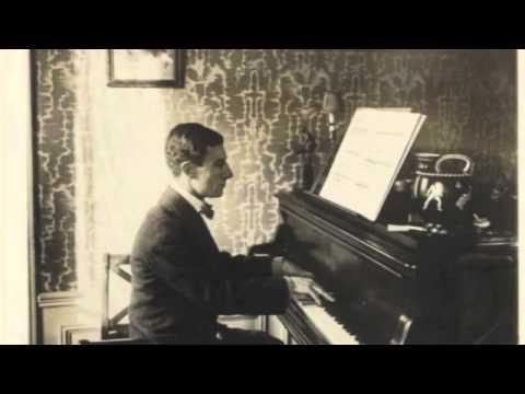"""Ravel """"Pavane pour une infante défunte"""" 1922 piano roll"""