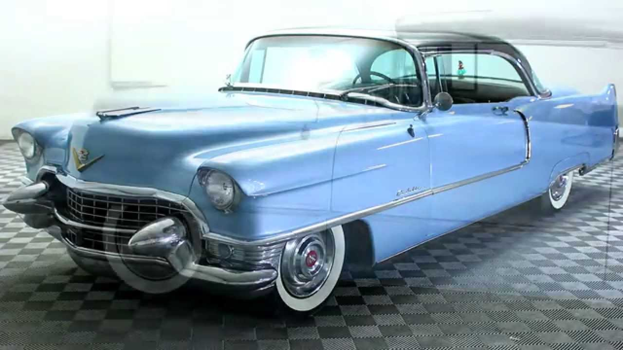 V Series Cadillac >> 1955 CADILLAC SERIES 62 COUPE DE VILLE RESTORED V8! For Sale - YouTube