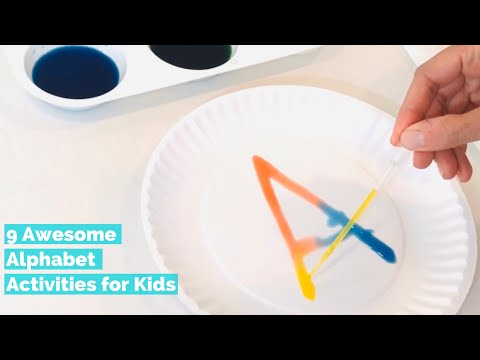 9 Awesome Alphabet Activities for Preschoolers, Toddlers and Kindergarteners | Learning the Alphabet