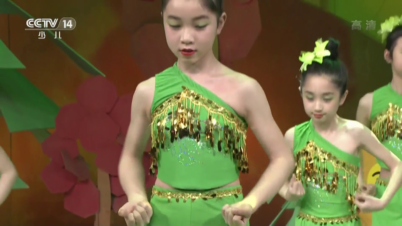 [英雄出少年]《傣家小妹走过来》 表演者:胡志玲等 | CCTV少儿
