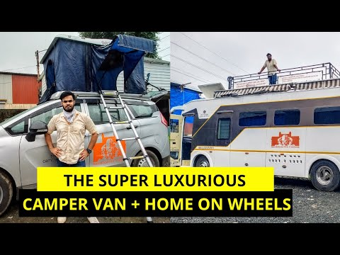 25 LAKH Ki Camper Van From Maharashtra Tourism Is The Ultimate Luxury!