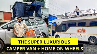 25 LAKH Ki Camper Van from Maharashtra Tourism is the ultimate luxury!