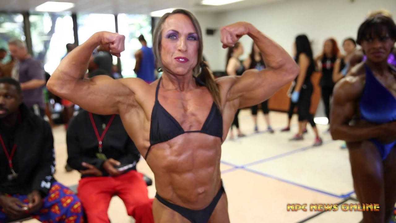 Womens Bodybuilding Backstage Prejudging Video from The