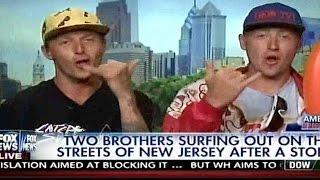 Hilarious surfer interview on FOX NEWS fail