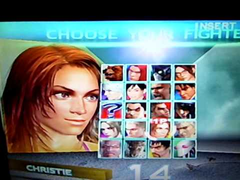 Tekken 4 Menu Screen All Charakters Ps2 Youtube