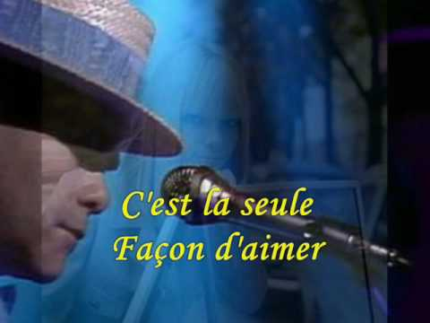 Elton John & France Gall - Donner Pour Donner (1980) With Lyrics!