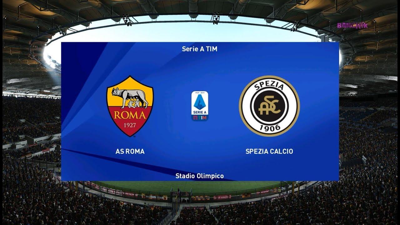 Download Roma vs Spezia - All Goals & Full Match 2021 - PES 2021
