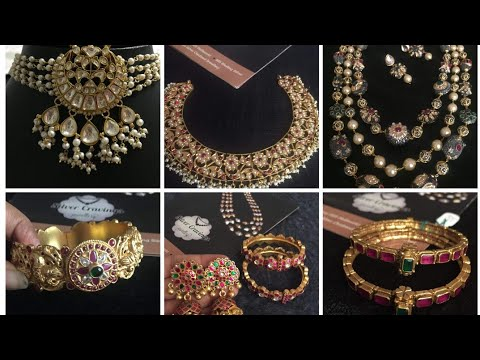 silver-jewelry-with-gold-plating-by-silver-cravings  -necklaces  -earrings bangles -sowmya-krishna
