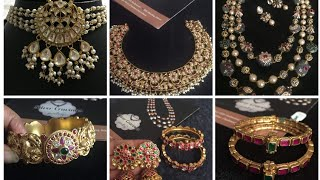 Silver jewelry with gold plating by Silver cravings|| Necklaces|| Earrings|Bangles|  Sowmya krishna