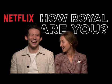 How Royal Are You? With The Crown's Josh O'Connor And Erin Doherty