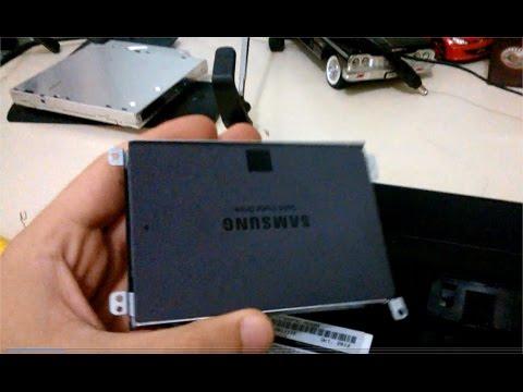 TUTORIAL Instalar SSD com HD no Notebook