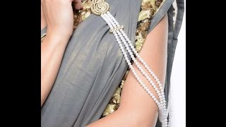 SAREE BROOCH how to make saree pin (brooch) fancy new with new design