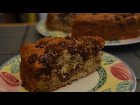 Banana Chocolate Chip Cake - Episode 29 - Reveena's Kitchen
